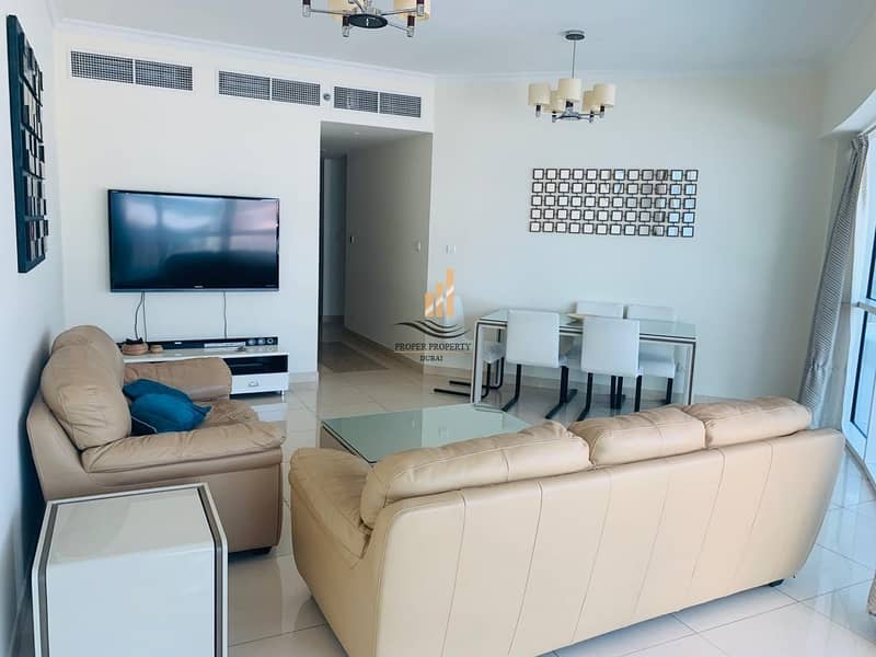 2 Beautiful furnished 2 BedRoom with Balcony near Metro