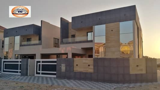 Modern villa for sale with attractive specifications, wonderful design, super duplex finishing, with the possibility of bank financing