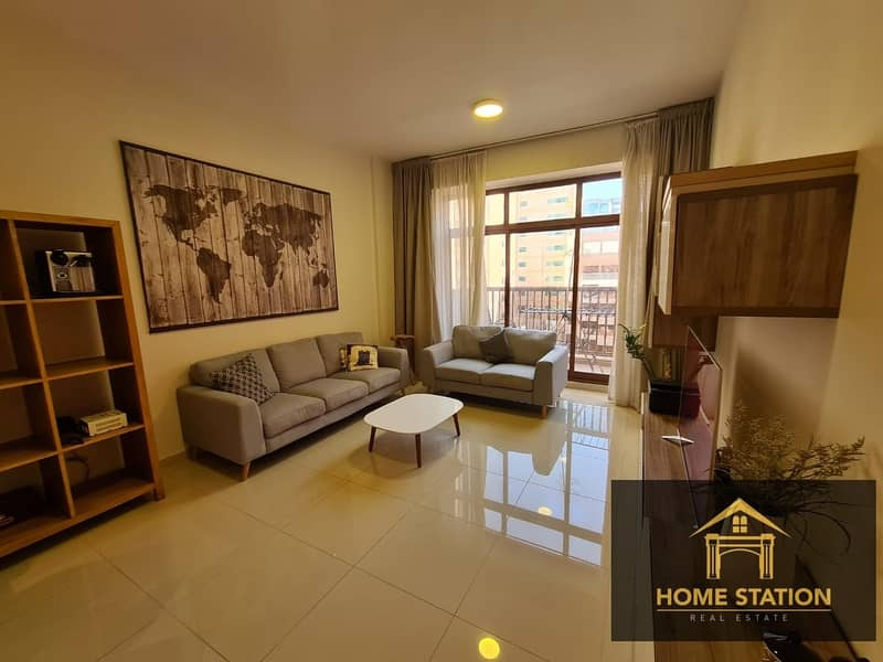 2 CHILLER FREE | 1BR + STUDY | FURNISHED | SPACIOUS |