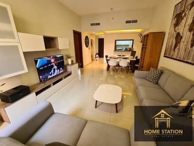 1 Bedroom Apartment for Rent in Jumeirah Village Circle (JVC), Dubai - CHILLER FREE | 1BR + STUDY | FURNISHED | SPACIOUS |