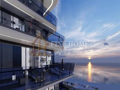 3 Bedroom Flat for Sale in Yas Island, Abu Dhabi - Iconic 3BR apartment in Yas Beach Residence.