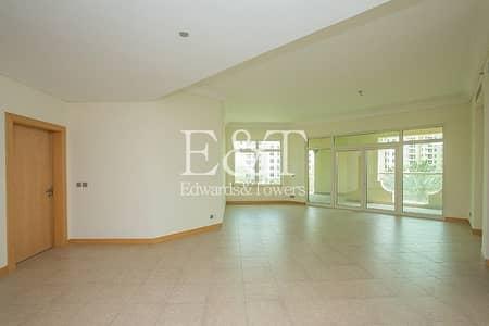 فلیٹ 3 غرف نوم للايجار في نخلة جميرا، دبي - Direct Access To Pool Beach