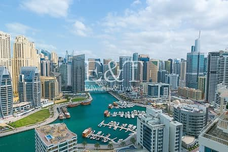 2 Bedroom Apartment for Rent in Dubai Marina, Dubai - Lowest Price|Brand New|Full Marina View|Unfurnished