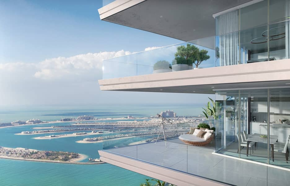Pay in 4 years| EMAAR| Private beach and marina skyline view