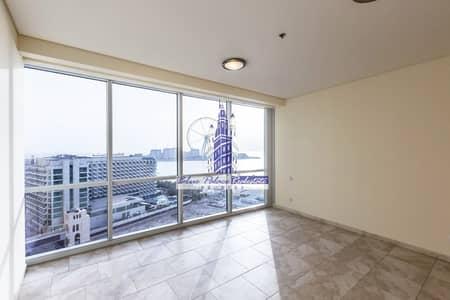 شقة 2 غرفة نوم للبيع في جميرا بيتش ريزيدنس، دبي - Full Dubai Eye View | Two Bedroom | Vacant