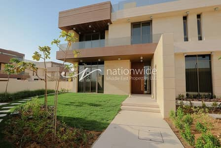 4 Bedroom Villa for Sale in Saadiyat Island, Abu Dhabi - Contemporary Home with Private Beach Access