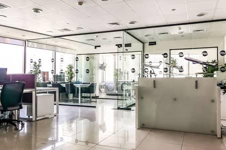 مکتب  للبيع في أبراج بحيرات الجميرا، دبي - Fitted Office | Prime Location | Mid Floor