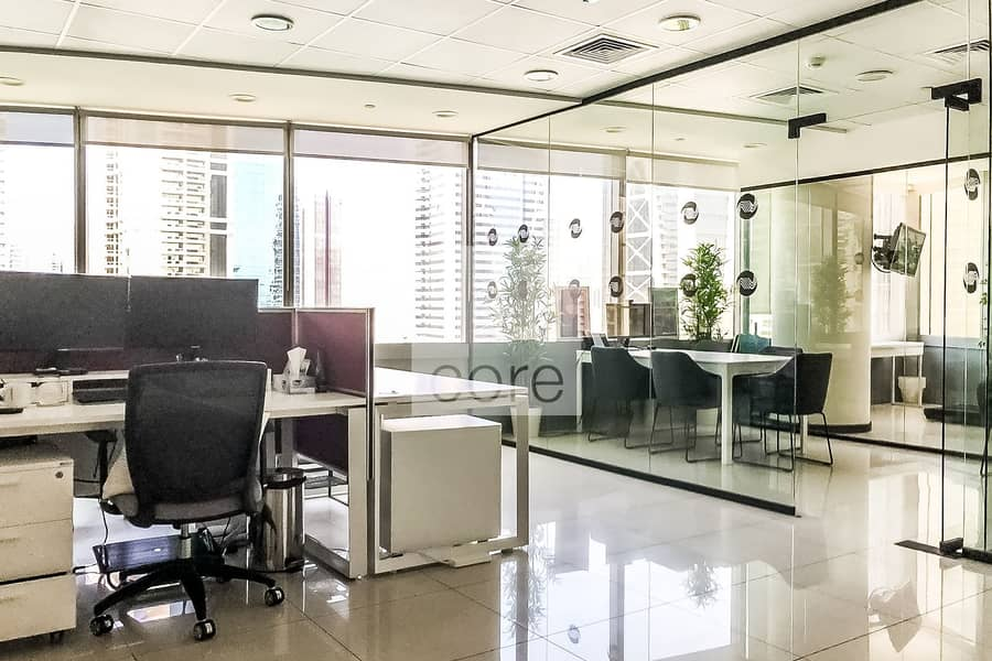 2 Fitted Office | Mid Floor | Parking | DMCC