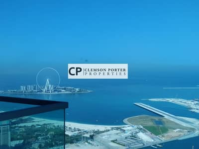1 Bedroom Flat for Rent in Dubai Marina, Dubai - Full Marina & Sea View   High Floor   Large  Layout