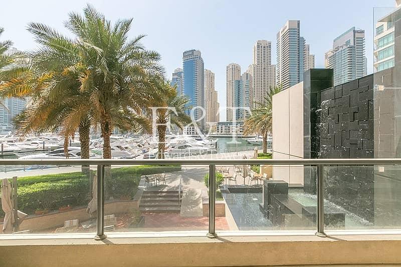 2 Full Marina View | Free AC | 1BR + Study Room