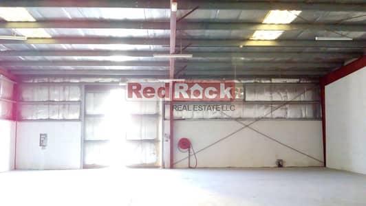 مستودع  للايجار في جبل علي، دبي - 12 Cheques AED 20/sqft for 3000 Sqft Warehouse in Jebel Ali