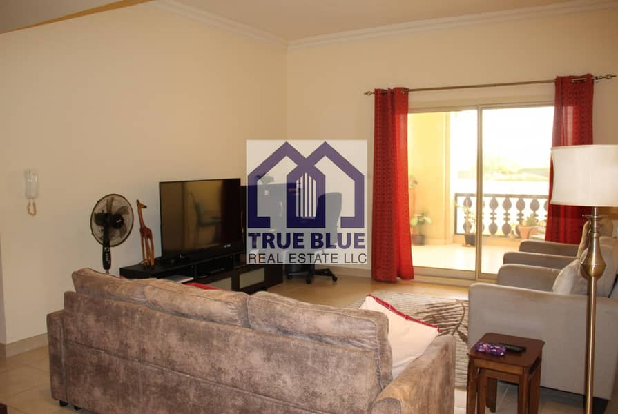 2 EXCLUSIVE FURNISHED POOL FRONT VIEW 1 BR IN MARINA