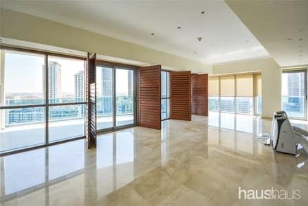 فلیٹ 3 غرف نوم للايجار في دبي مارينا، دبي - Full Marina View   3 Large Terraces   Ready Now