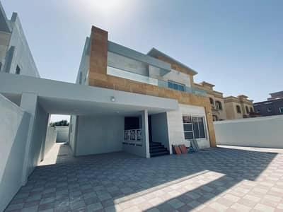 5 Bedroom Villa for Rent in Al Mowaihat, Ajman - LAVISH BRAND NEW EUROPEN STYLE VILLA FOR LEASE IN AJMAN FOR 100K YEALRY