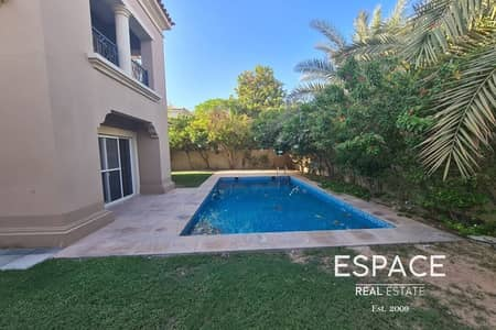 5 Bedroom Villa for Rent in Arabian Ranches, Dubai - Stunning C1 with Private Pool in a Quiet Location