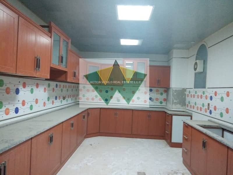 2 Brand new 5 MBR villa with private entrance in MBZ city