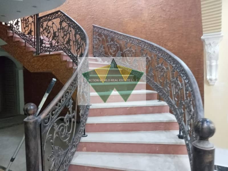14 Brand new 5 MBR villa with private entrance in MBZ city