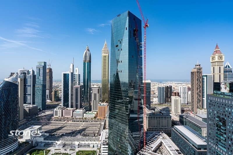 11 Elegant Unit on High Floor with DIFC View