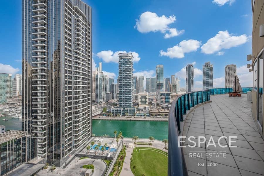 Exclusive | Full Marina View | Large 3BR Duplex | VOT