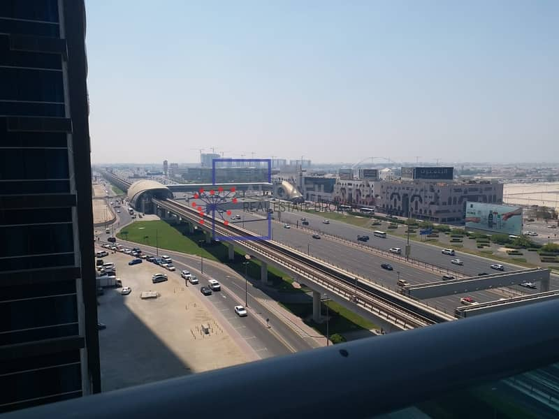 26 Chiller Included | Sea View | All Facilities | Business Bay | SZR
