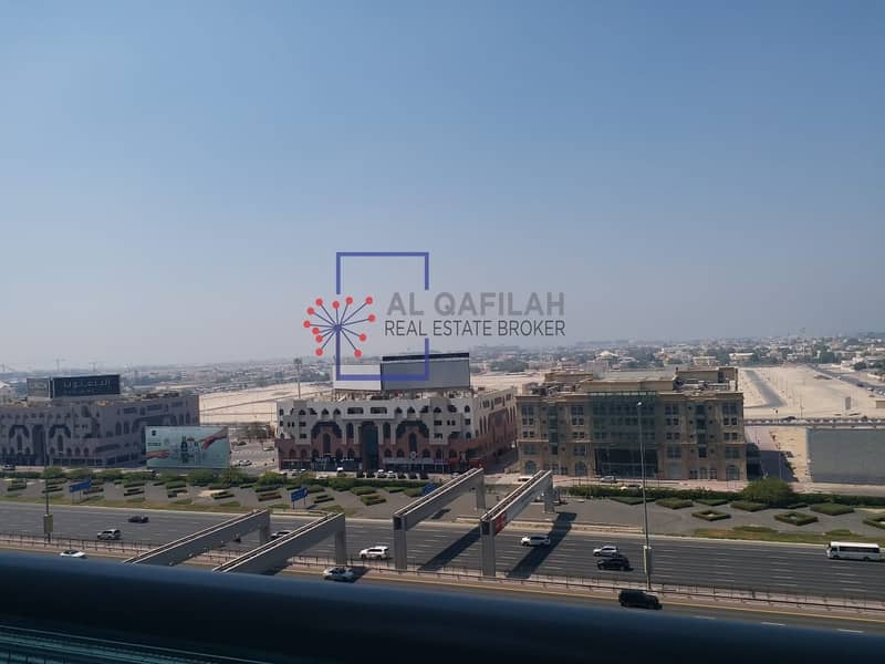 2 Chiller Included | Sea View | All Facilities | Business Bay | SZR