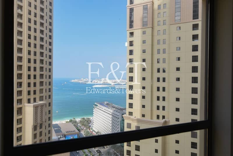 Rented|Partial Sea View| High Floor |Rimal 1| JBR