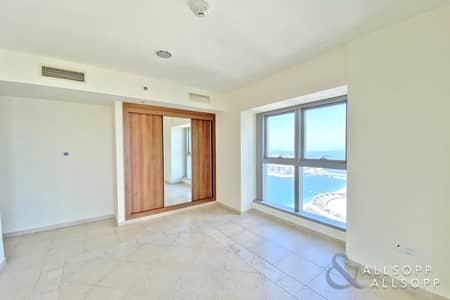 2 Bedroom Apartment for Rent in Dubai Marina, Dubai - 2 Bed Apartment | High Floor | Sea Views