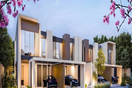 3 Bedroom Townhouse for Sale in Dubailand, Dubai - 3 Bedroom Contemporary Townhouse in  Cherrywoods