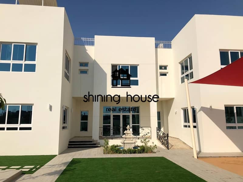 2 For sale villa VIP in Shakhbout city 100 in 152