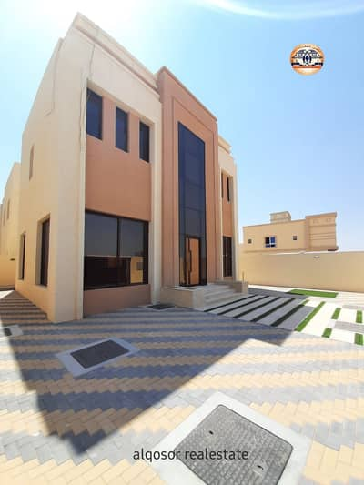 3 Bedroom Villa for Sale in Al Yasmeen, Ajman - Villa for sale in Ajman, Jasmine, two floors, with air conditioners, with the possibility of bank financing