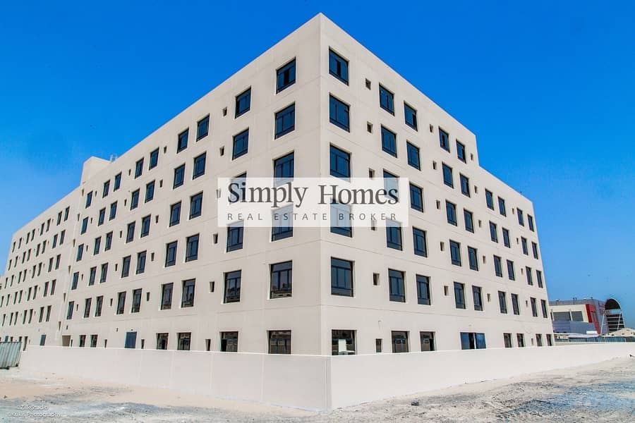 Staff Accommodation building located at Dubai Production City (IMPZ)