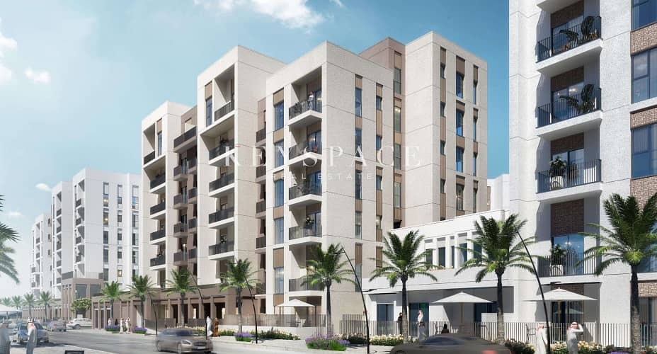 2 Noor Residences Phase llWaterfront 1 Bed Apt70% Post Handover