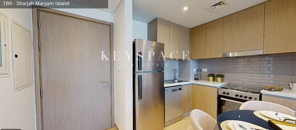12 Noor Residences Phase llWaterfront 1 Bed Apt70% Post Handover