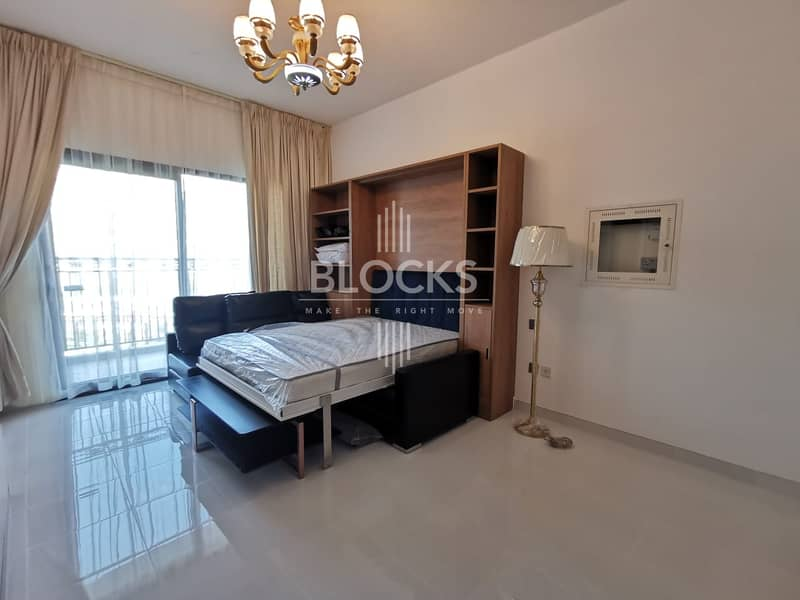 Luxurious Studio Apartment | Fully Furnished | Pool View