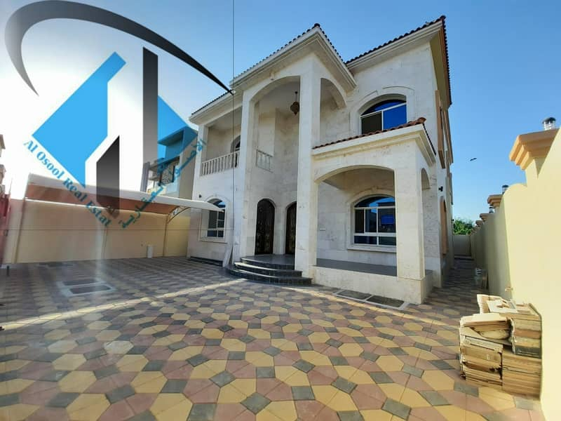 For sale, villa in the Rawda area, stone facade on Raisi Street, very excellent finishing