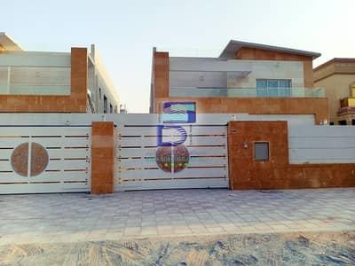 فیلا 5 غرف نوم للايجار في المويهات، عجمان - فيلا للايجار تصميم مودرن من اروع الفلل