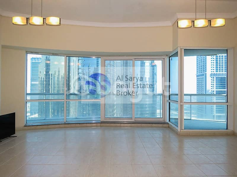 HOT OFFER !!! 2BH + Store for rent in Lake terrace JLT cluster D