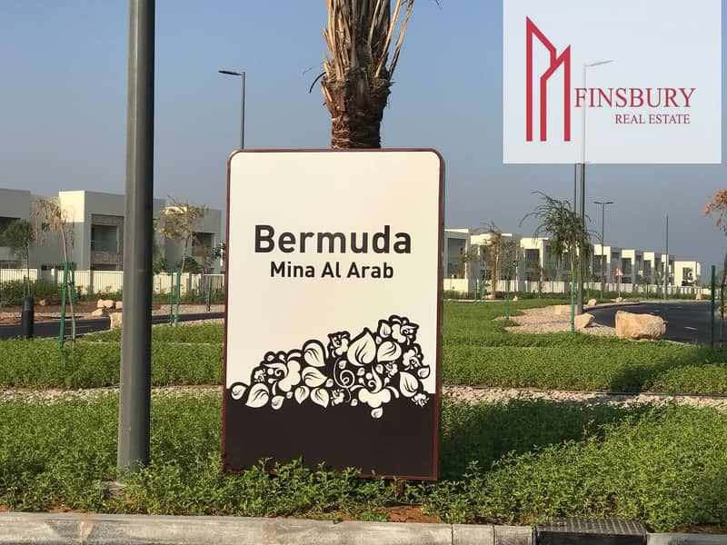 2 Bermuda Villa | Spacious | Full Sea View | 2 Bedroom + Maids Room |