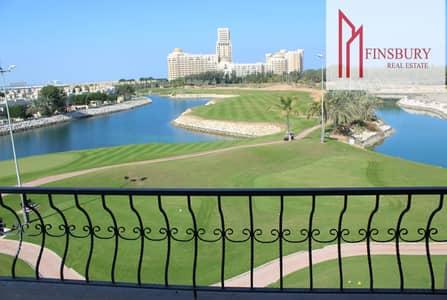 فلیٹ 1 غرفة نوم للايجار في قرية الحمراء، رأس الخيمة - Spacious   Furnished   Full Golf Course & Lagoon View   One Bedroom
