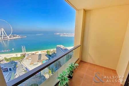 شقة 2 غرفة نوم للبيع في جميرا بيتش ريزيدنس، دبي - Full Sea View | 2 Bed | Vacant | 1516 SqFt