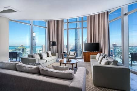 شقة فندقية 5 غرف نوم للايجار في وسط مدينة دبي، دبي - 5bed Duplex penthouse