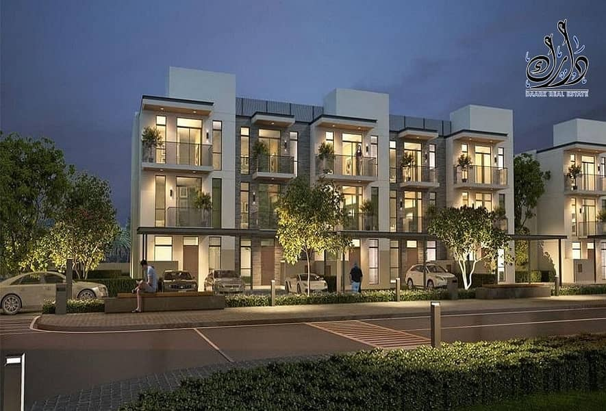 Superb 4- Bedroom townhouse In Eco-friendly Community Save at MBR CITY