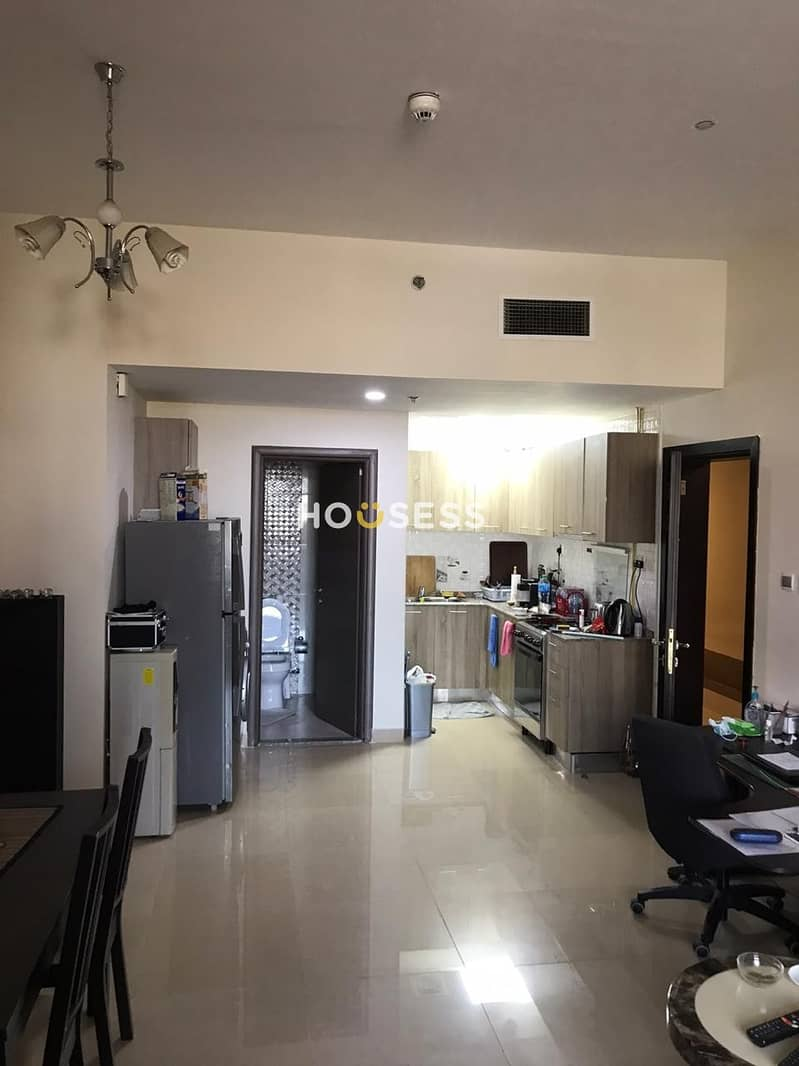 2 Furnished one Bed extra large space  with Huge Balcony
