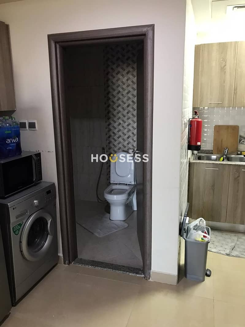 11 Furnished one Bed extra large space  with Huge Balcony