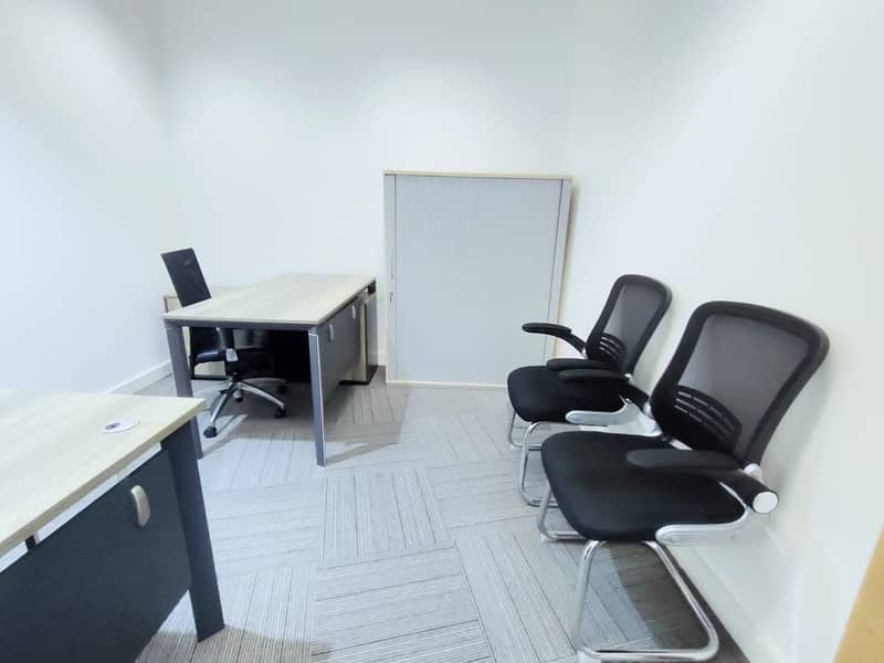 Independent Office 23000 AED only!  Linked with Burjuman Metro.