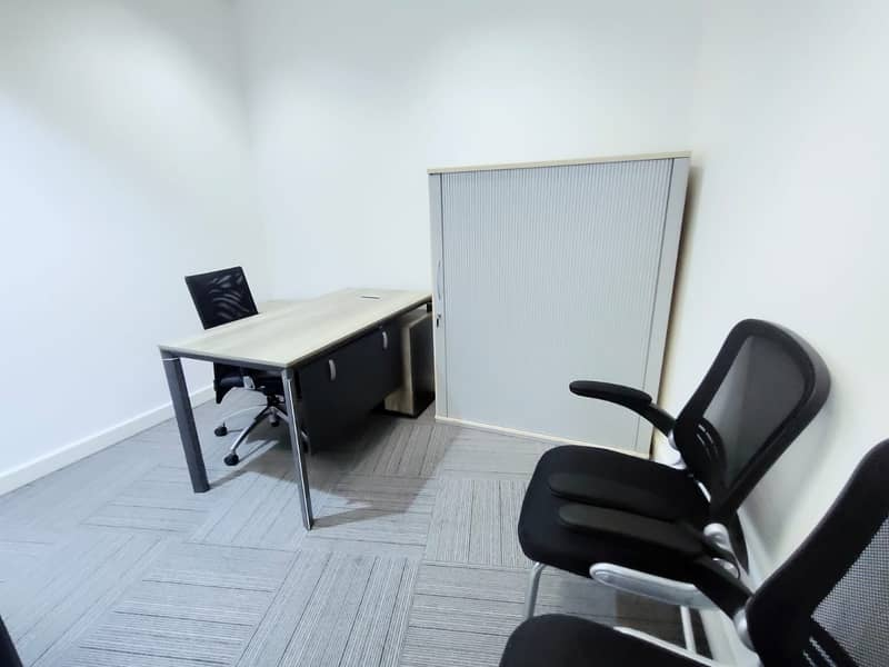 2 Independent Office 23000 AED only!  Linked with Burjuman Metro.