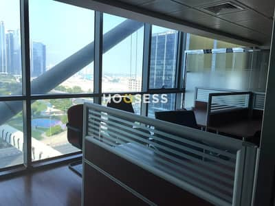 Office for Rent in Jumeirah Lake Towers (JLT), Dubai - Reduced rent|Fitted partitioned|Balcony