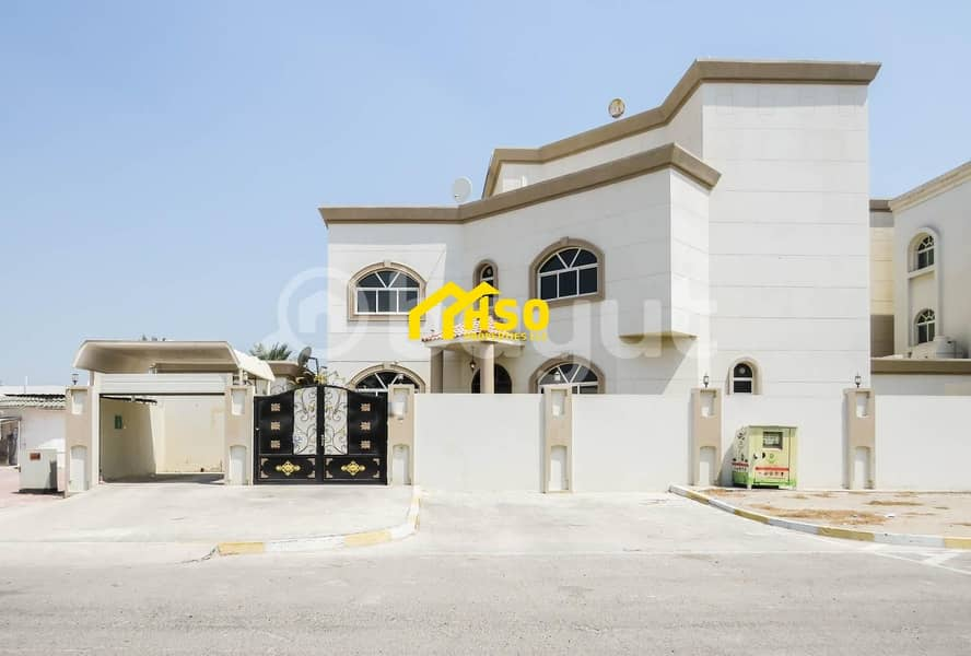 2 Compound of 3 Vilas in al Mushrif area Abu dhabi for Sale