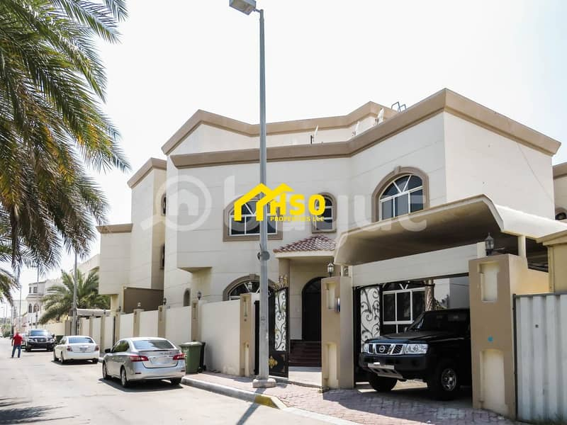 15 Compound of 3 Vilas in al Mushrif area Abu dhabi for Sale