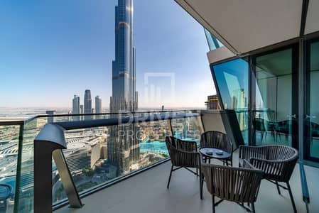3 Bedroom Apartment for Sale in Downtown Dubai, Dubai - Best Burj Khalifa Fountain View